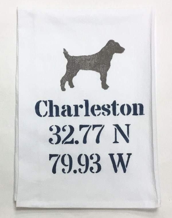 dog coordinate towel
