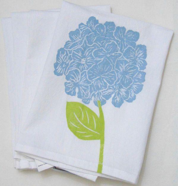 hydrangea napkin 2