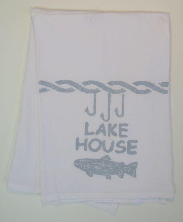 lake house towel