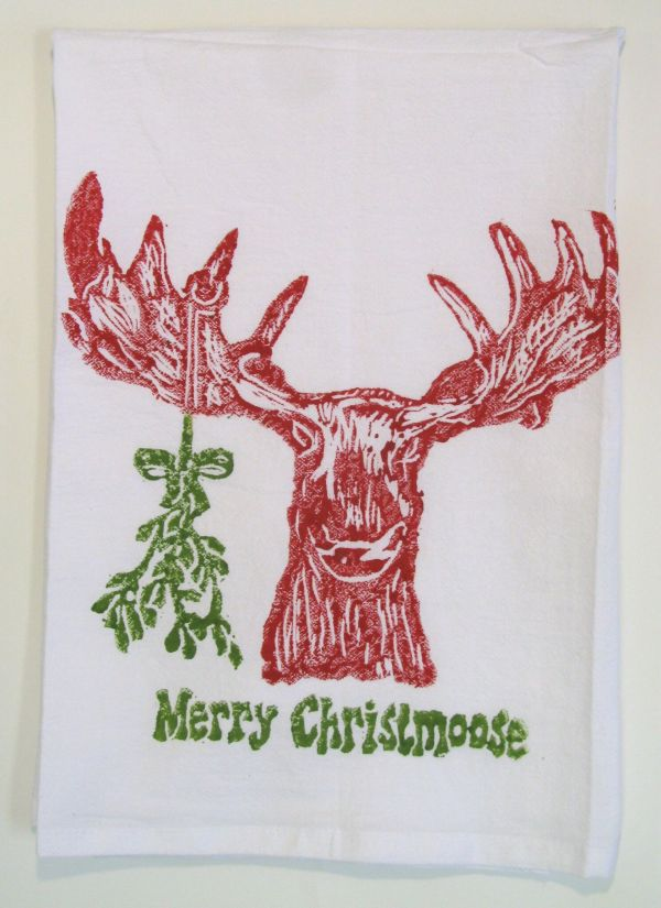 merry christmoose red