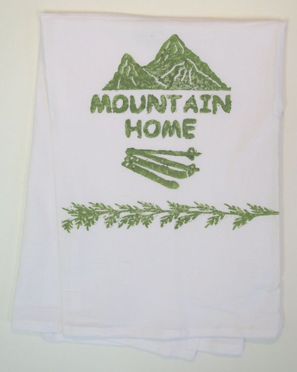 mountain home towel
