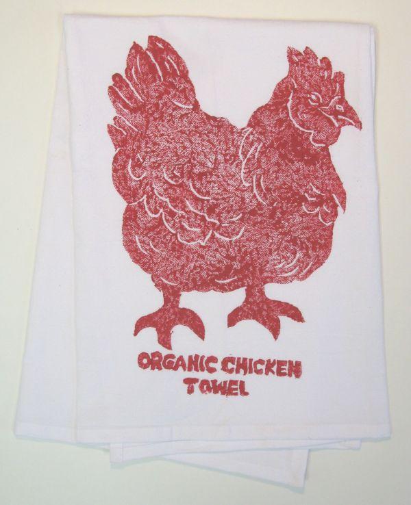 organic chicken towel