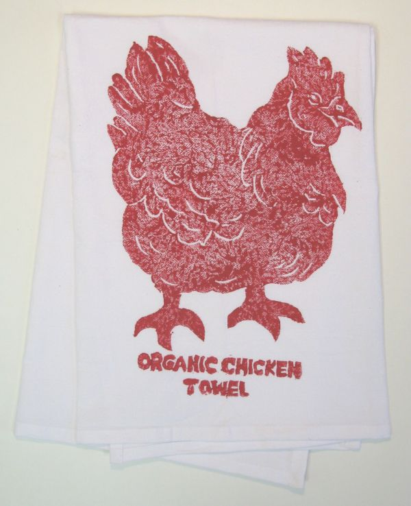 organic chicken towel
