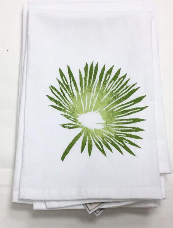 palm frond napkin