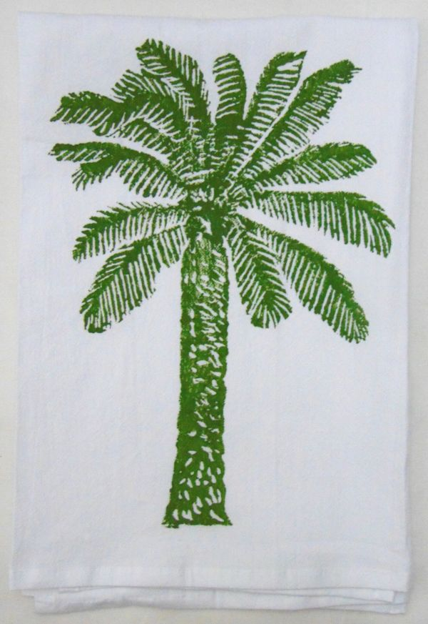 palm tree towel 2
