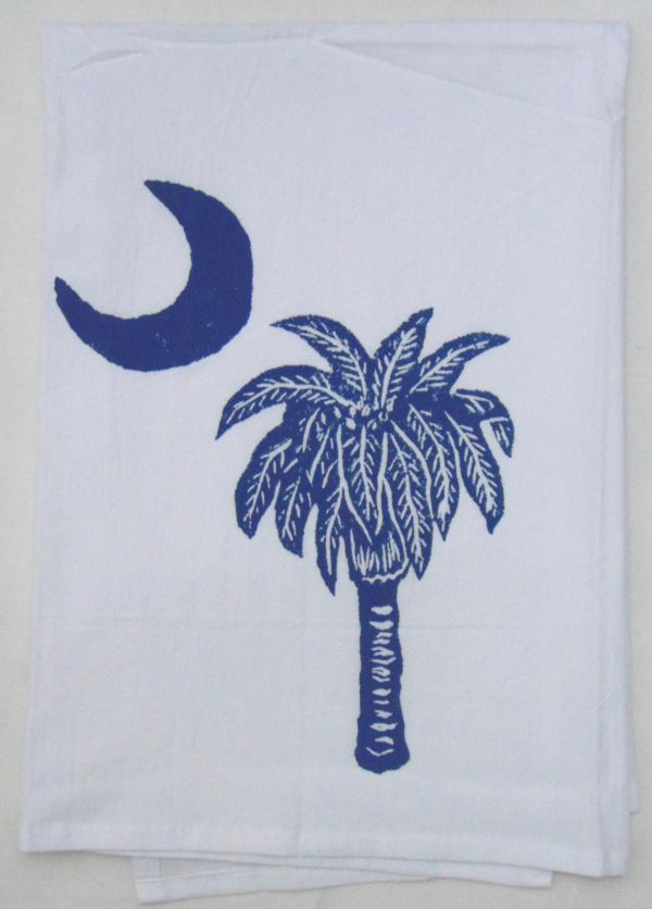 palmetto moon towel