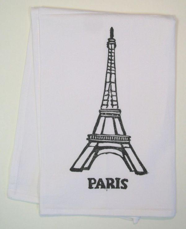 paris towel