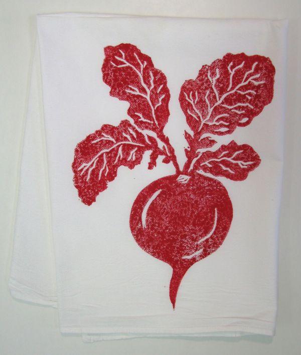 raddish towel