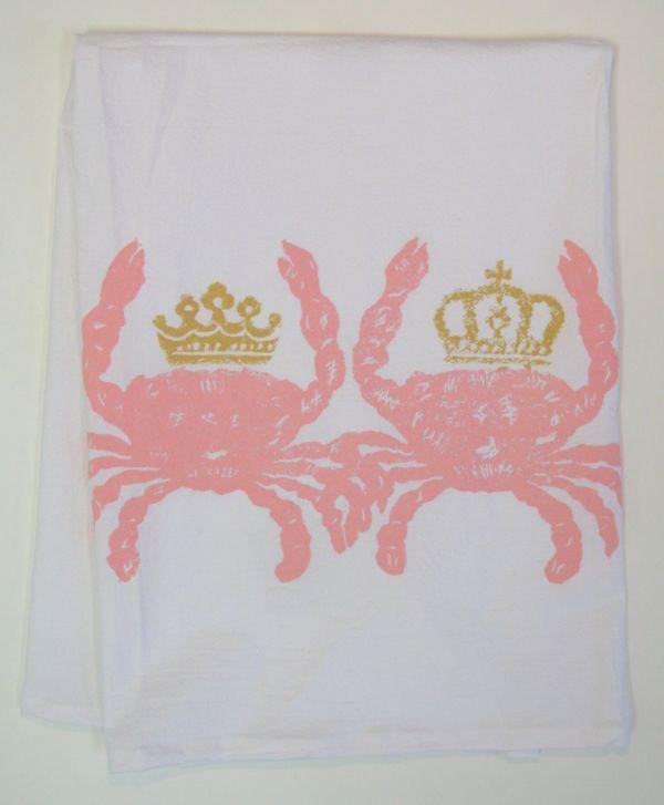 royal crabs towel