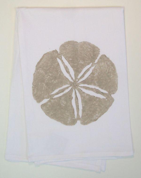 sand dollar towel