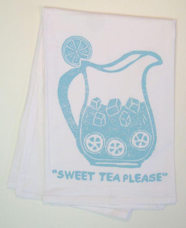 sweet tea towel