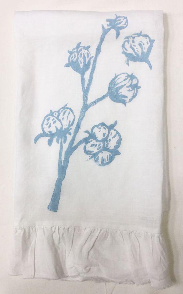 cotton ruffled