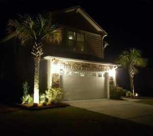 Charleston Residential Landscape Design Lights A