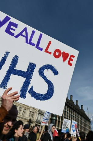 Celebrate the NHS and then protect it.