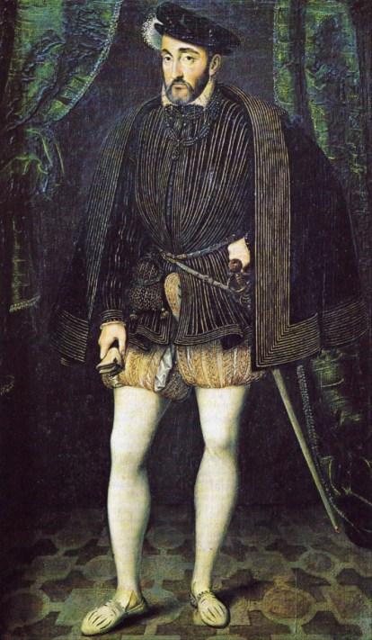 Workshop of François Clouet (1515-1572) - King of France Henry II ,с.560-1580 : The Louvre Museum, Paris. France