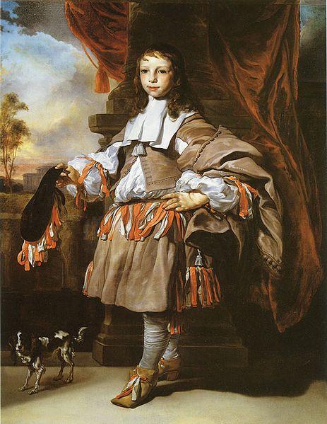 Jan van Noordt, Portrait of a Boy, 1665. Musée des Beaux-Arts de Lyon
