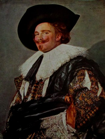 The Laughing Cavalier is a portrait by the Dutch Golden Age painter Frans Hals in the Wallace Collection in London, 1624