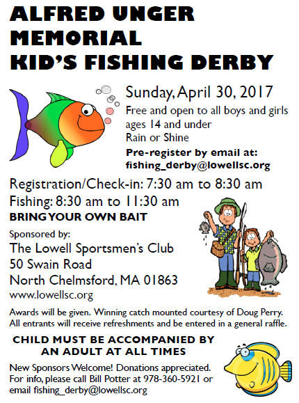 2017 Al Unger Kids Fishing Derby