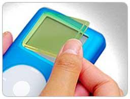 iSkin ultra-clear screen protector