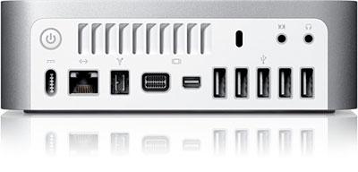 mac mini tech specs 2009