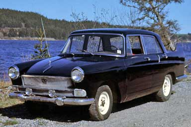 Old Cars and Old Macs Revisited 1961 Austin A55 Mk II Cambridge sedan