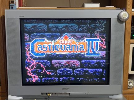 Example: Super Castlevania IV on the Super NES