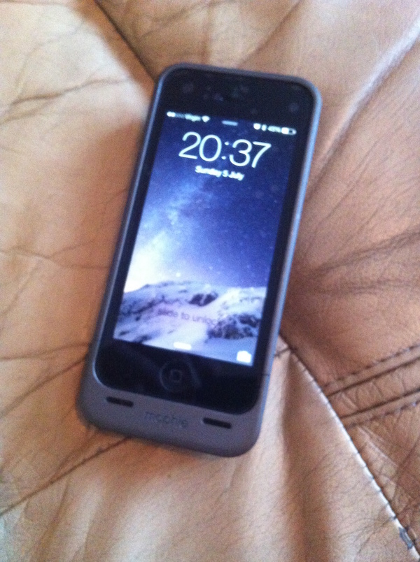 Mophie Juice Pack Helium Iphone 55s Review Low End Mac