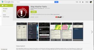 iMap Weather Radio