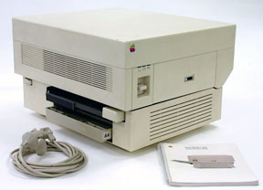 first Apple LaserWriter