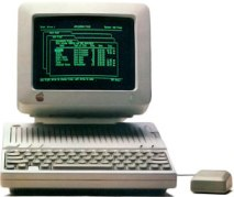 AppleWorks on Apple IIc