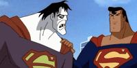 Bizarro and Superman
