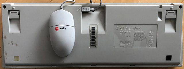 bottom of AppleDesign keyboard