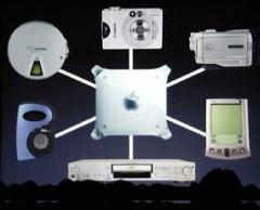 digital hub slide, MacWorld Expo January 2001