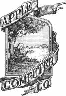 original Apple Computer logo