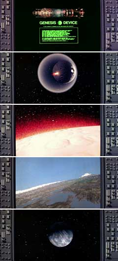 Genesis effect in Star Trek II