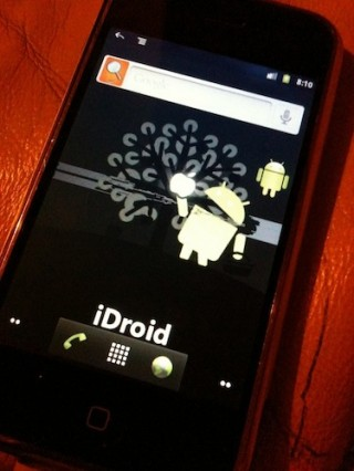 iDroid Home Screen
