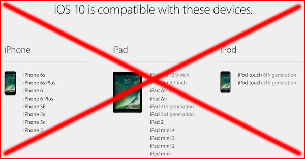 iOS-10-compatibility-wrong