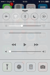 iOS7-controlcentre