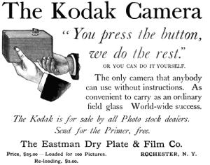 Kodak: You press the button. We do the rest.
