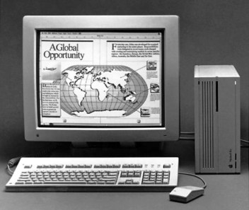 Macintosh Two-Page Monochrome Display