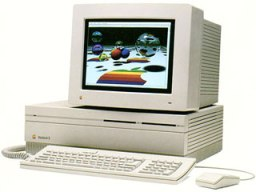 Macintosh II with RGB monitor