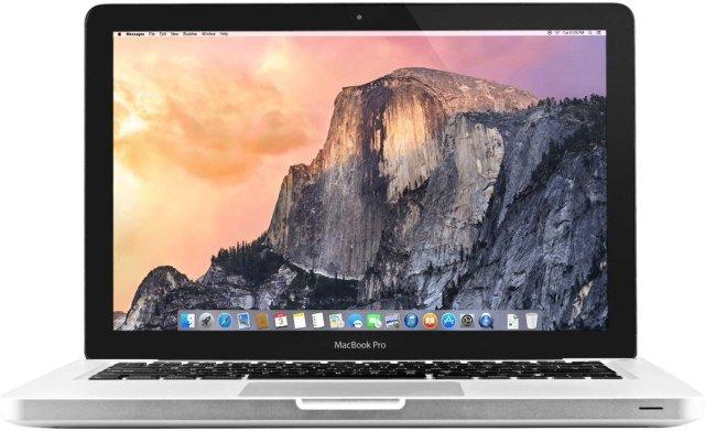 MacBook Pro running Yosemite