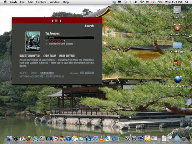 Netflix on 12=inch PowerBook G4