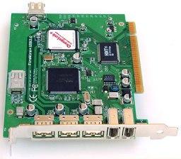 OrangeLink FireWire USB PCI card