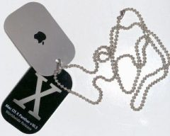 Mac OS X 10.3 Panther dogtags