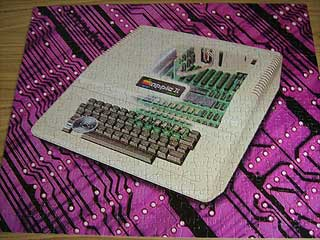 Apple II puzzle, assembled