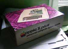 Apple II jigsaw puzzle box