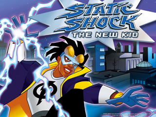 DC's Static Shock super hero