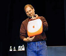 Steve Jobs unveils iBook