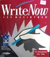 WriteNow for Macintosh